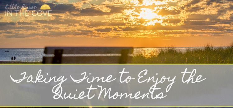 Take Time To Enjoy The Quiet Moments