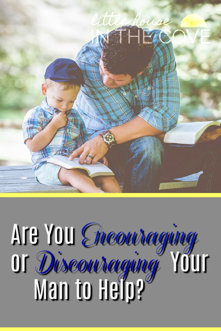 Are you discouraging or encouraging your man to help you with the parenting responsibilities?