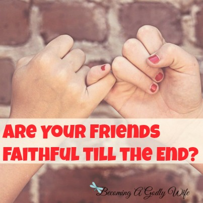 Faithful To The End