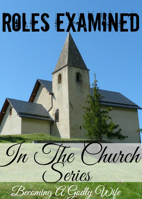 Roles Of And In The Church