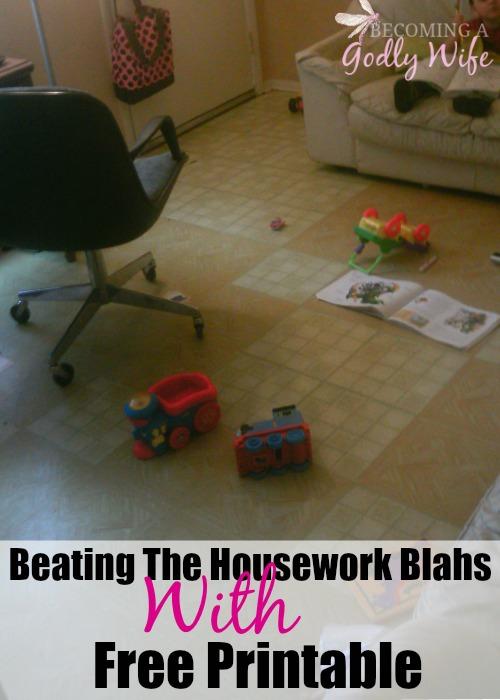 Housework Blahs