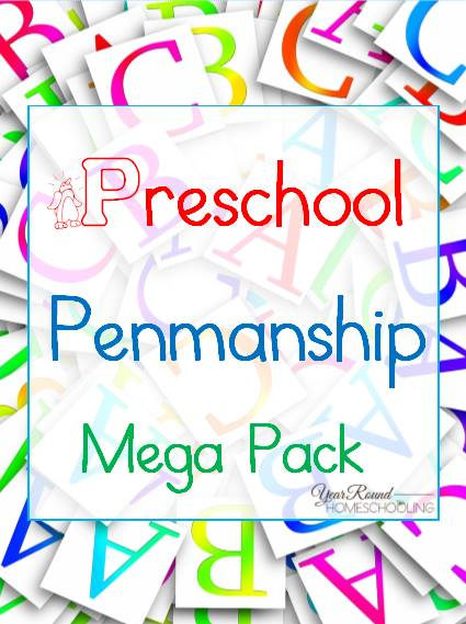 **Freebie** Preschool Penmanship Mega Pack