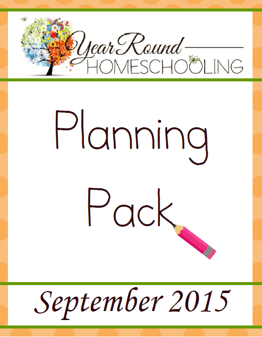 **Free** Year Round Homeschooling Planning Pack
