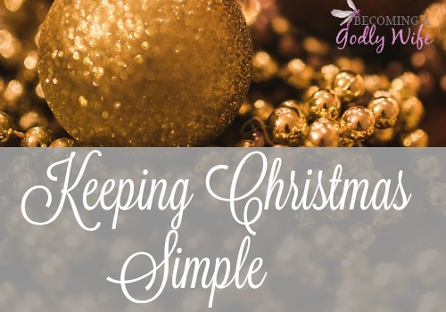 Keeping Christmas Simple
