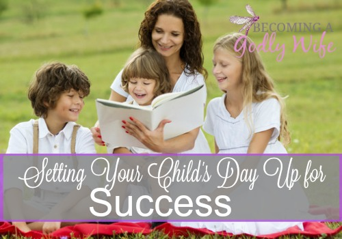 Setting Your Child's Day Up for Success