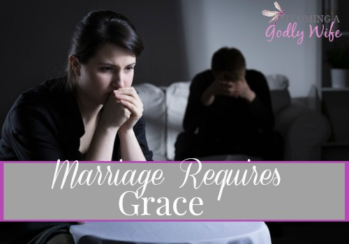 Marriage Requires Grace