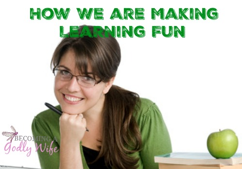 How We Are Making Learning Fun