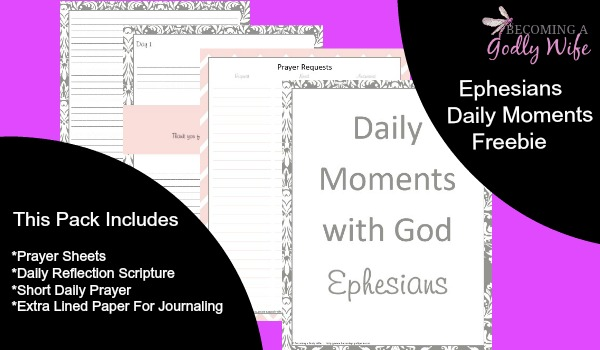Daily Moments with God- Ephesians