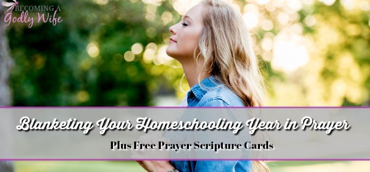Blanketing Your School Year in Prayer