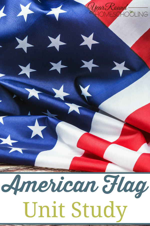 I find it hard to believe that so many people don't know some of the most basic facts about our American flag. So when Misty from Year Round Homeschooling made this unit study I just knew it would be a hit!  Included in this study are flag protocol, interesting facts, and even videos.