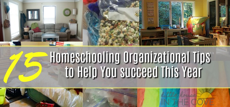 It's that time of year to pull out all our organizational skills to create a homeschooling area made for success. No worries I have fun some ways to help you own it!