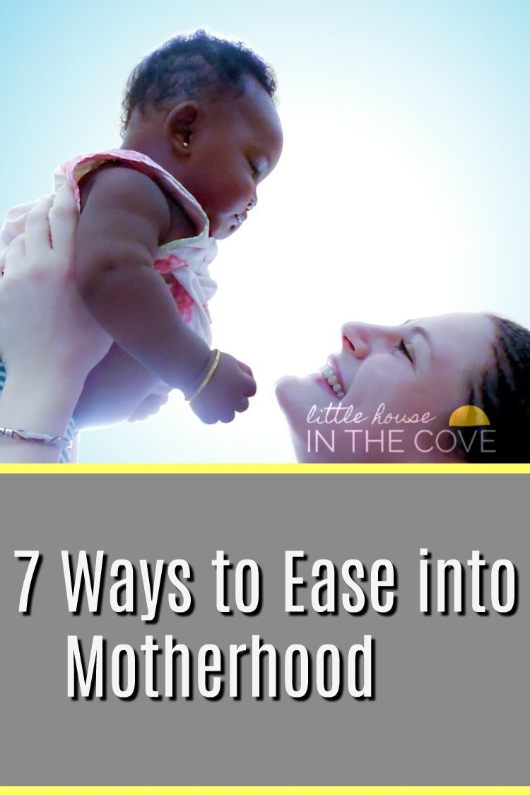 Becoming a mom can be scary!! Here are 7 ways to help new mothers ease into motherhood.