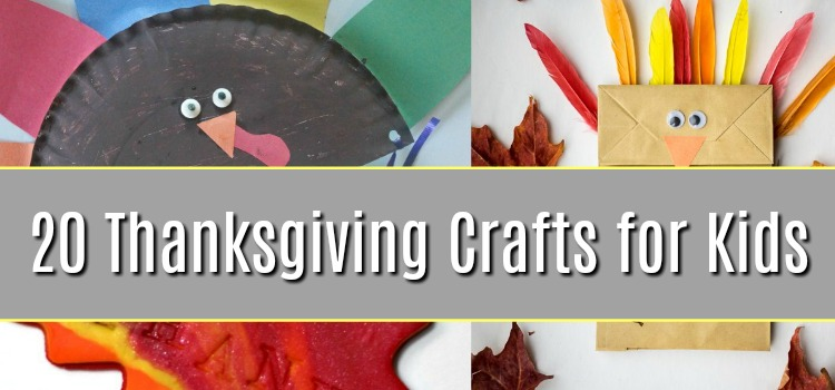 Thanksgiving Crafts for Children