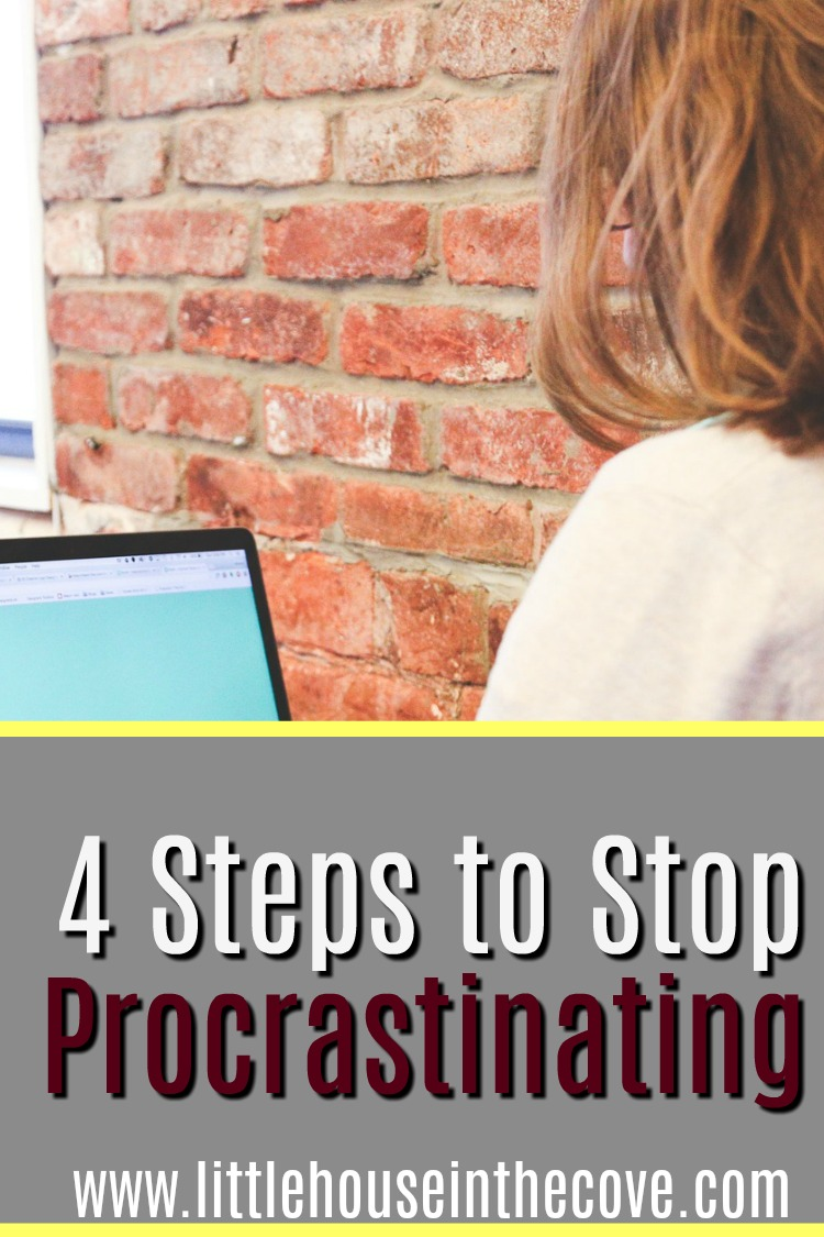 Procrastinating is a real problem. Sarah is talking to us about steps to stop procrastinating today!