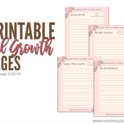 Free Personal Growth Pages