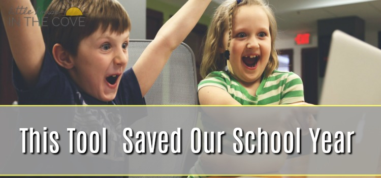 This tool saved our homeschool and I bet that it can help save yours!